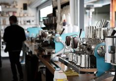 The team behind the Brunswick East Project, Padre and League of Honest Coffee have a new outpost at Queen Victoria Market. Coffee Town, Coffee Shops, Coffee Shop Counter, Queen Victoria Market, Coffee Places, Best Coffee, Bar, Marketing, Hotels