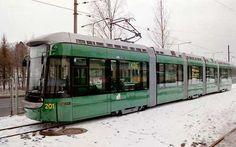 Helsingin raitiovaunut
