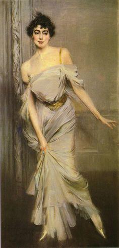 #Museumweek La moda che influenza l'arte. Giovanni Boldini - Madame Charles Max - Ospitato presso #Muséed'Orsay, #Paris #woman #arteemoda #moda #vaialmuseo #museo #madame #art #illustration