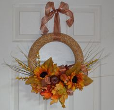Fall and Autumn Wreath  by QuikNikcreations, $35.00