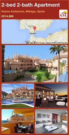 2-bed 2-bath Apartment in Nueva Andalucia, Málaga, Spain ►€214,985 #PropertyForSaleInSpain