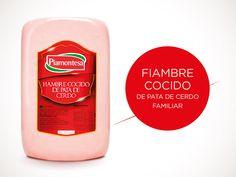 Fiambre Cocido de Pata de Cerdo (Familiar) - Piamontesa