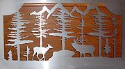 Innovative Fabricators : Metal Fabrication Artists : Western Metal Art Products - Railing Inserts