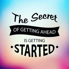 """""""The Secret to Getting Ahead is Getting Started.""""  I often think back to the time before I started my business. I was unhappy at my full-time gig and desperately wanted a way out. Of course I have many talents and skills but I wanted to do what I was passionate about......helping other #Bloggers. To be able and help Bloggers who are just starting out or a veteran blogger with little to no design skills excited me! To help out entrepreneurs in their startup businesses by creating the website…"""