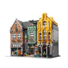 My modulars | www.ebay.com/itm/Lego-Custom-Modular-Building-… | Flickr