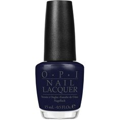 Opi Road House Blues ($25) ❤ liked on Polyvore