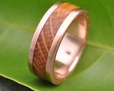 30 Best Eco Gold And Wood Wedding Rings Images Wooden Rings