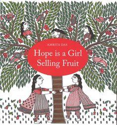 Hope is a girl selling fruit - Hoop is een meisje dat fruit verkoopt