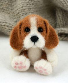 joannazatorska.blogspot.com #polandhandmade #felt #dog