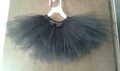 Black tutu i made for my daughter...