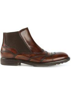 Dolce & Gabbana Seam Detail Chelsea Boots - Parisi - Farfetch.com