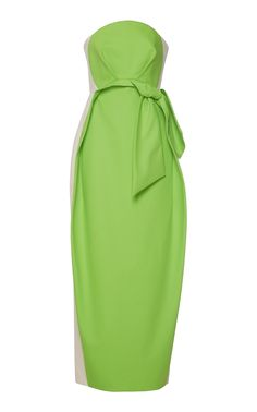 Strapless Bow Dress by DELPOZO for Preorder on Moda Operandi
