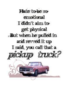 Kings of Leon -  Pickup Truck <3