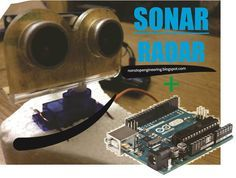 Sonar Radar System using Arduino, Servo & Ultrasonic (HC-SR04)