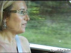 Sexy Suz MILF Masturbating on Public Bridge