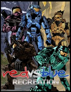 1038 Best Red Vs Blue Images Red Vs Blue Rooster Teeth