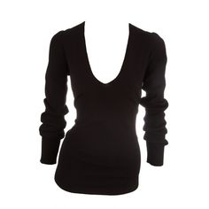 Donna Karan V Neck Ribbed Sweater- Okay so it doesn't have to be Donna Karan..but you should have several sweaters in different colors/patterns like this..fitted to your body shape, you can push the sleeves up or leave them down or you can layer this with any number of options..versatility is the key!!
