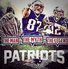 Belichick, Gronk, Brady!