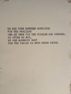 THE WANDERLUST ONE Typewriter quote on 5 x 7 by WritersWire, $5.00