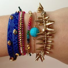 Cute! Bracelets by Stella & Dot.