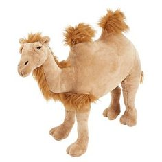 Melissa and Doug stuffed camel
