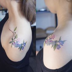 The placement is exactly what I want! But to save for my tree tattoo or do forget me nots...?