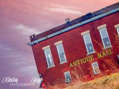 #ArtforSale #Etsy #PurpleSky #PinkSky #MontgomeryIndiana #Indiana #DaviessCountyIndiana #Amish #AmishCountry #AntiqueMall #BuildingPhotography  #photography #WallArt #HomeDecor ©Kirsten Ray Photography