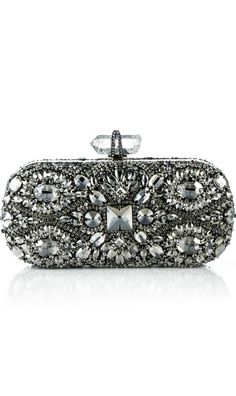 Marchesa ● Embroidered Clutch