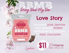 Pink Jasmine, My Bar, Scentsy, Love Story, Bring It On