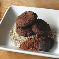 Food Pusher: Double Chocolate Almond Flour Cookies