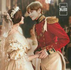 You and Prince Taehyung Credits: Taehyung Fanart, V Taehyung, Namjoon, Foto Bts, Bts Photo, Bts Bangtan Boy, Jimin, Bts Girlfriends, V Bts Wallpaper
