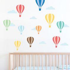 Nursery-Hot-air-Balloons