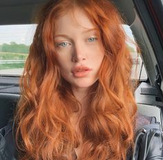 Ginger Hair Color, Red Hair Color, Beautiful Red Hair, Beautiful Redhead, Aesthetic Hair, New Hair, Redheads, Hair Inspiration, Curly Hair Styles