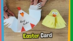 Super easy easter card