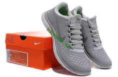Nike Free Run Wolf Grey Reflect Silver Pure Platinum Mens Sn ccfbd0c49b3