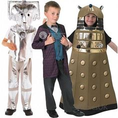 New #licensed #doctor who cyberman dalek tv bbc sci fi kids fancy dress #costume,  View more on the LINK: 	http://www.zeppy.io/product/gb/2/121429021379/