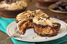 Candy Bar Pies Recipe
