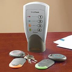 Never lose your keys again. I could have used this last week, I think my son threw them away....