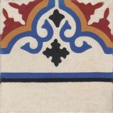 Moroccan Encaustic Cement Pattern Tile 102a   £ 2.64   Moroccan Encaustic Cement Pattern Tiles   Best Tile UK   Moroccan Tiles   Cement Tiles   Encaustic Tiles   Metro Subway Tiles   Terracotta Tiles   Victorian Tiles