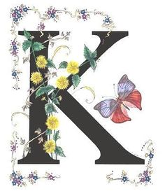 Browse through images in Stanza Widen's My Butterflies and Flowers Alphabet collection. The Alphabet which I have created, using butterflies and flowers with names starting with the same letter that I featured. Alphabet Art, Alphabet And Numbers, Letter Art, Illuminated Letters, Illuminated Manuscript, Lettering Design, Hand Lettering, Stoff Design, Fine Art America