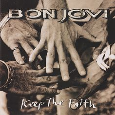 Carátulas de música Frontal de Bon Jovi - Keep The Faith. Portada cover Frontal de Bon Jovi - Keep The Faith Jon Bon Jovi, Bon Jovi Song, Music Albums, Music Songs, My Music, Rock Music, Music Videos, Bon Jovi Album, Pochette Album