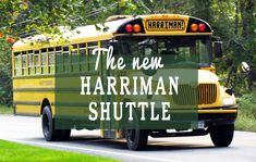 Now you can catch a shuttle bus from Tuxedo, New York, or Sloatsburg, and take it through Harriman -- or even catch it from the park, and ride back to the stations.