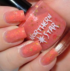 Dipped in Lacquer - Northern Star Polish Poppy Refreshed