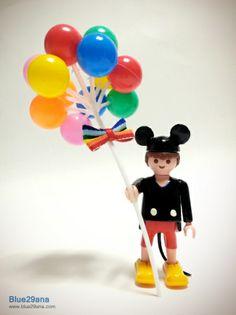 Mickey Mouse Custom #playmobil  | pachucochilango.com