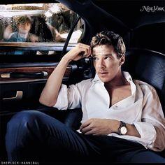 Glamour Benedict Cumberbatch alias Sherlock