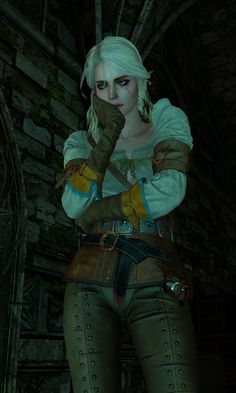 Witcher 3 Art, Ciri Witcher, Geralt Of Rivia, Game Character, Character Design, The Withcer, Wild Hunt, White Wolf, Comic Movies
