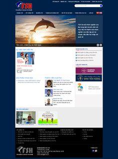 Mẫu web cộng đồng - Nhóm nghiên cứu Fish