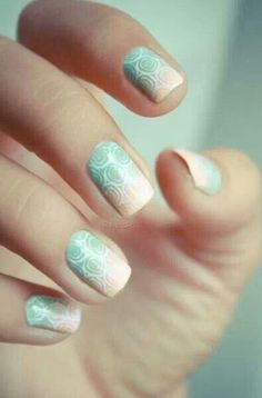 Cute Nails- never could do these tho