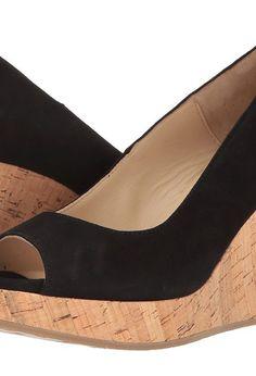 Cordani Rayner (Black Suede) Women's Wedge Shoes - Cordani, Rayner, MK1641-002, Footwear Open Wedge, Wedge, Open Footwear, Footwear, Shoes, Gift, - Fashion Ideas To Inspire