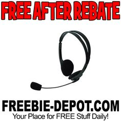 ►► FREE AFTER REBATE - Lightweight Headset - Exp 1/21/17 ►► #Free, #FreeAfterRebate, #FREEStuff, #FREEbate, #Freebie, #Frugal, #FrySElectronics ►►